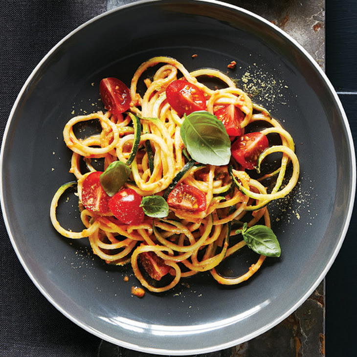 Zucchini Noodles with Cherry Tomato Marinara