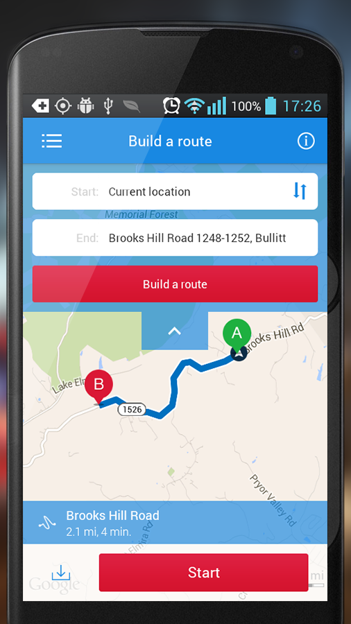 HUDWAY — GPS Navigation HUD- screenshot