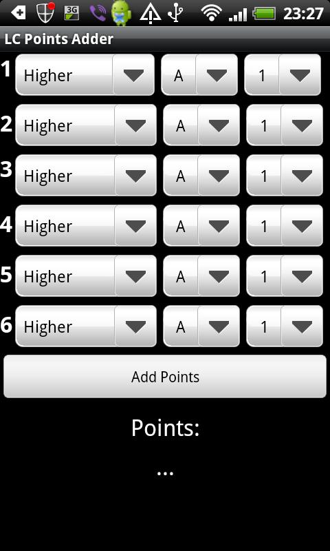 LC Points Adder - screenshot