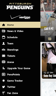 Pittsburgh Penguins Mobile - screenshot thumbnail