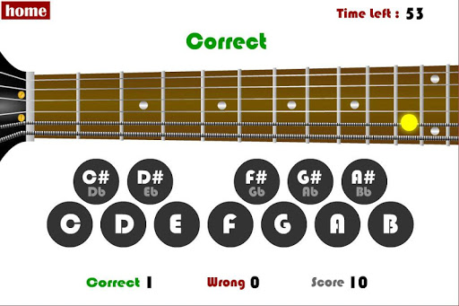 Guitar Family Note Trainer