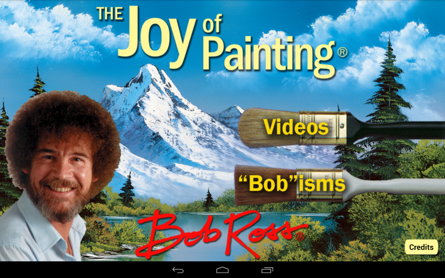 Bob Ross- screenshot