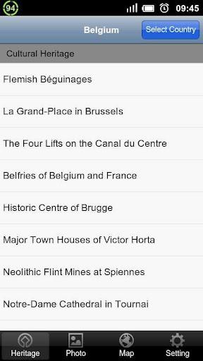 World Heritage in Belgium