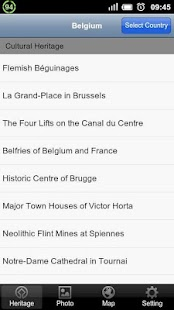 World Heritage in Belgium - screenshot thumbnail