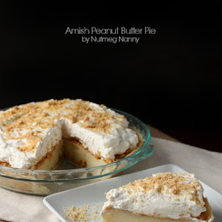 Amish Peanut Butter Pie.