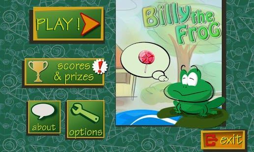 Billy the Frog Lite - screenshot thumbnail