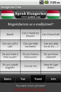 Speak Hungarian Free - screenshot thumbnail