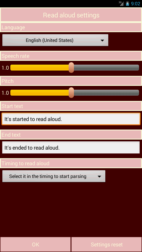 Read input aloud. FREE- screenshot