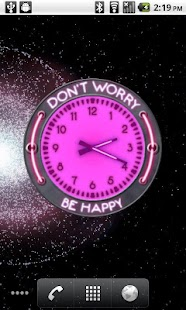 10 Pink Neon Clocks - screenshot thumbnail