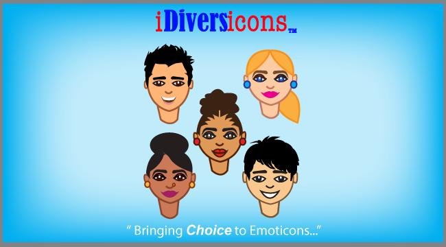 iDiversicons 1st Diverse Emoji - screenshot