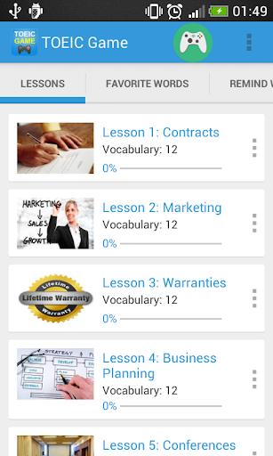 無料教育AppのTOEIC単語とリスニングと文法の練習、無料|HotApp4Game