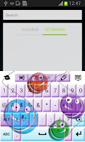 Screenshot of Yo-Yo Keyboard