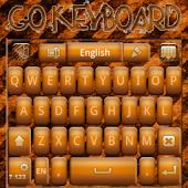 Go Keyboard Industrial Grunge