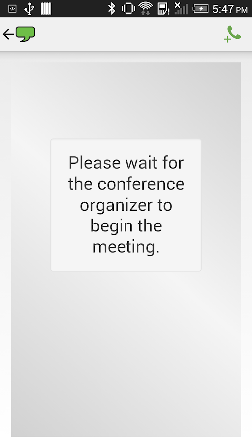 ReadyTalk Conferencing - screenshot