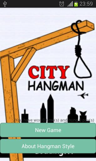 HangMan City Game