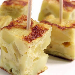 Quick Spanish Tortilla with Potatoes.