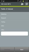 Screenshot of Visit Connect