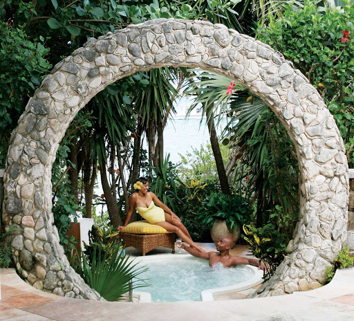 spa-arch-Bermuda - Couples spa treatments are available at many Bermuda resorts.