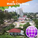 Kinshasa Street Map logo