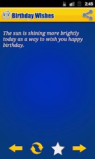 Happy Birthday Wishes Quote - screenshot thumbnail