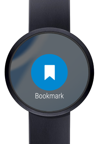 Web Browser for Android Wear - screenshot
