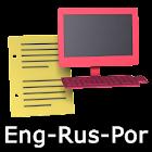 Eng-Rus-Por Offline Translator icon