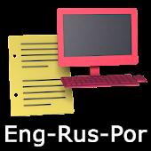 Eng-Rus-Por Offline Translator