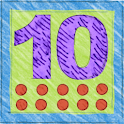 Add and subtract 10 in German icon