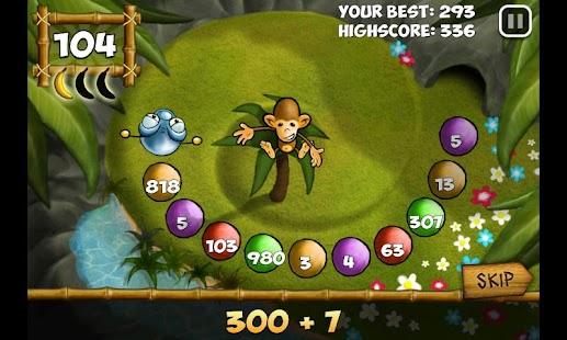 Maths Monkey's Quest- screenshot thumbnail