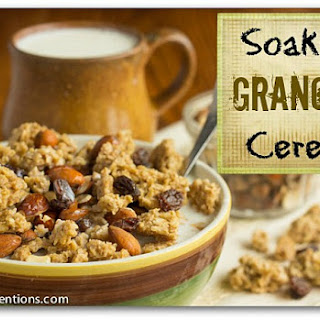 Soaked Granola Cereal