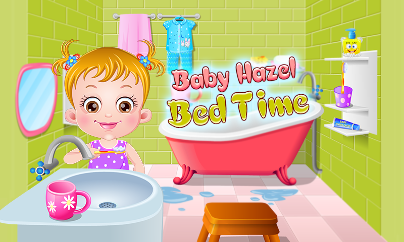 Baby Hazel Bed Time- screenshot