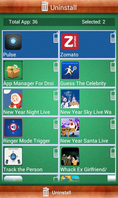 App Manager For  Droid - screenshot