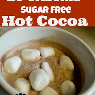 20 Calorie Sugar Free Hot Cocoa.