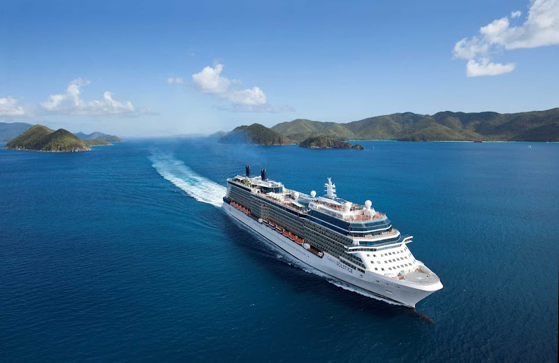 Celebrity Solstice's itineraries take guests to Australia, New Zealand, Alaska, the Mediterranean and Hawaii.