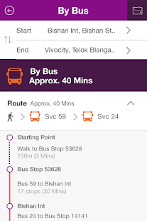 SBS Transit iris - screenshot thumbnail