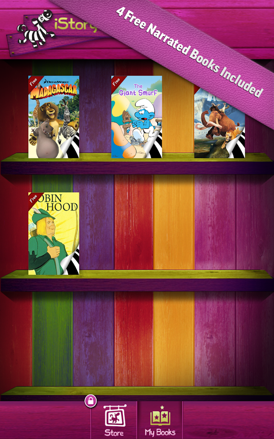 iStoryTime Storybook Library- screenshot
