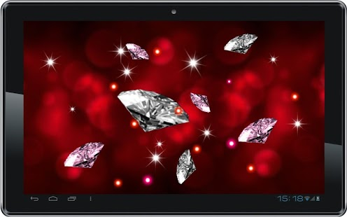Diamonds 3D Free live wallpape