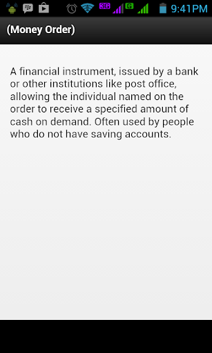 Banking Financial Terms