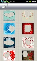 Screenshot of Photo Cards - Valentine's day
