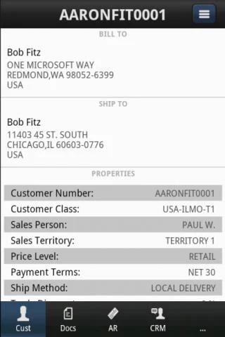 SalesPad Mobile GP Legacy