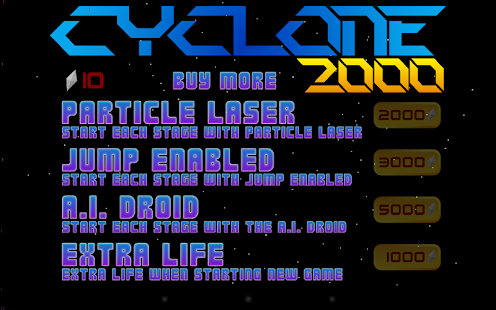 Cyclone 2000- screenshot thumbnail