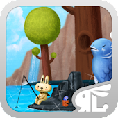 FishingBunny GO Launcher Theme