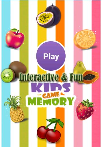 Interactive Kids Memory Game