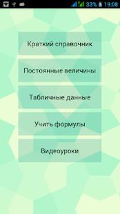 Приложения формулы для физики