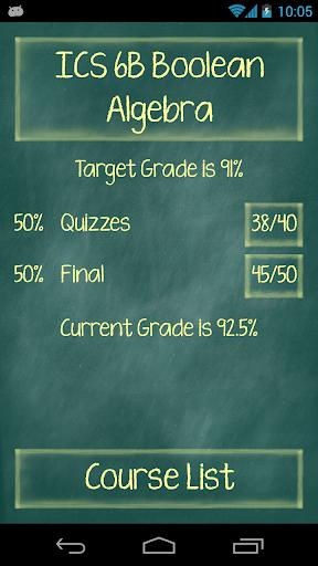 Grade Calulator