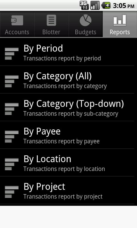Financisto - Expense Manager- screenshot