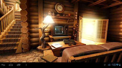 My Log Home 3d Live Wallpaper For Android