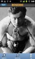 Screenshot of Houdini's last magic trick