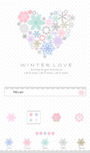 winter love도돌런처테마