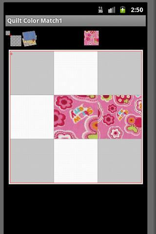 Color Matching for Quilt - screenshot